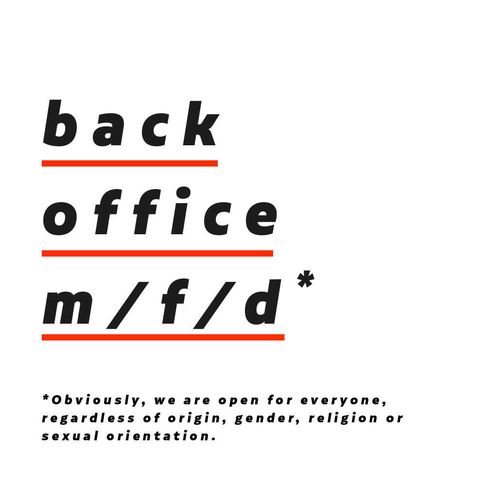backoffice (m/f/d)*